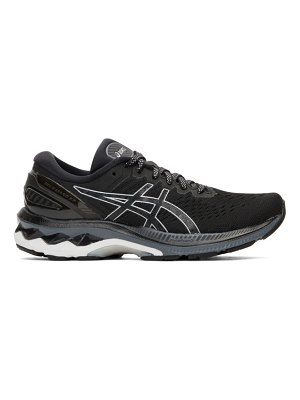 Asics black and silver gel-kayano 27 sneakers