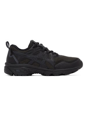 Asics black waterproof gel-venture 8 sneakers