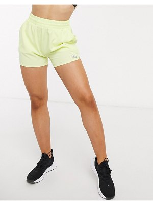 ASOS 4505 icon woven run short-yellow