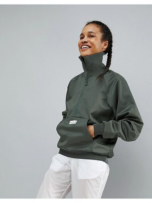 ASOS 4505 jacket with wide ribbed cuff and neck detail