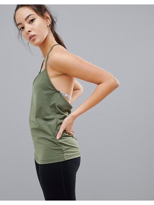 ASOS 4505 t-back strappy cami work out top