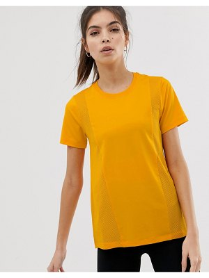 ASOS 4505 t-shirt with panel detail
