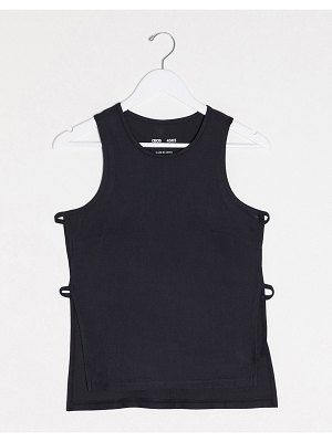 ASOS 4505 tank with open side detail-black