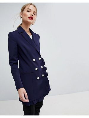 ASOS Blazer with Frill Detail