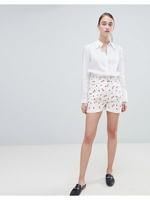ASOS DESIGN Cherry Print Shorts