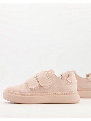 ASOS DESIGN dasher sneakers in beige-neutral