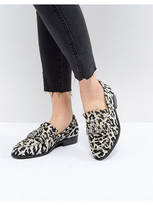 ASOS DESIGN Maidia Leather Loafers