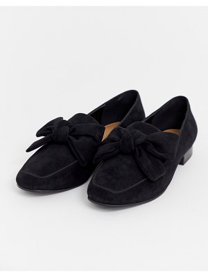 ASOS DESIGN my girl bow loafers