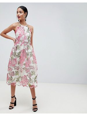 ASOS DESIGN pinny prom midi dress