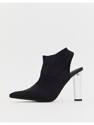 ASOS DESIGN posey knitted high heels