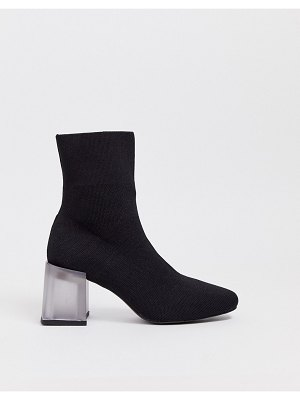 ASOS DESIGN reality ankle boots in black