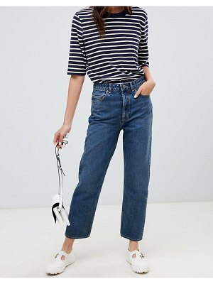 ASOS DESIGN recycled florence authentic straight leg jeans