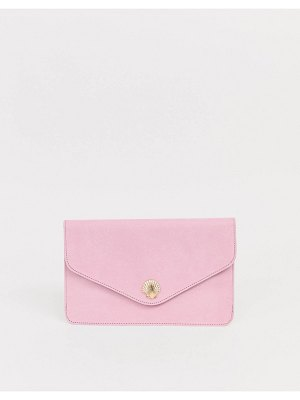 ASOS DESIGN shell clutch bag