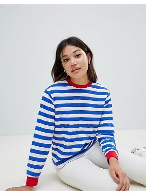 ASOS DESIGN t-shirt with long sleeve