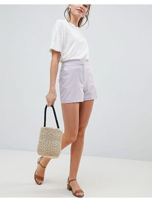 ASOS DESIGN tailored a-line shorts