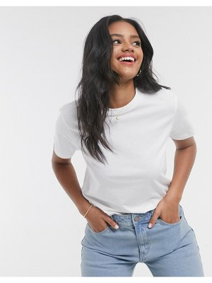 ASOS DESIGN ultimate organic cotton t-shirt with crew neck in white