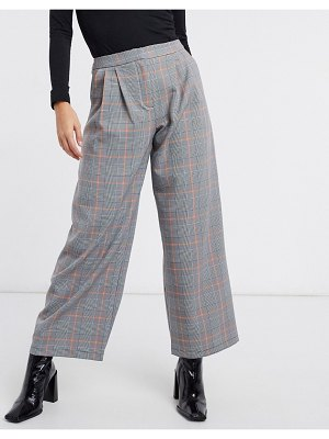 ASOS DESIGN ultimate slouch dad trouser in pow check-multi