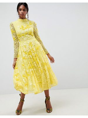 ASOS Edition ASOS EDITION All Over Lace Embellished Midi Dress