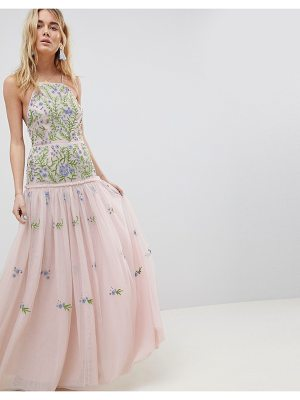 ASOS Edition ASOS EDITION meadow floral embellished maxi dress