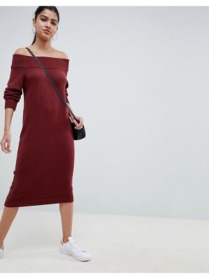 ASOS DESIGN knit dress