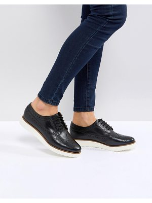 ASOS MARCE Leather Flat Shoes