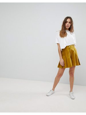 ASOS Pleated Culotte Shorts