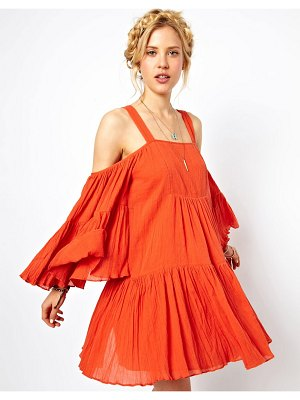 ASOS summer dress with cold shoulder