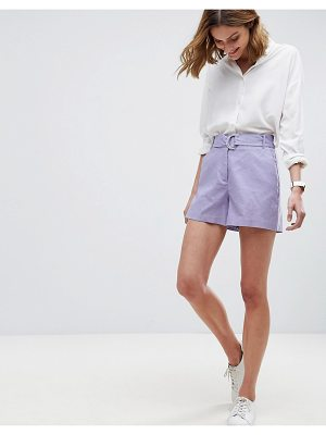 ASOS Tailored D-Ring Linen Shorts
