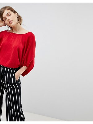 ASOS DESIGN top with open tie back