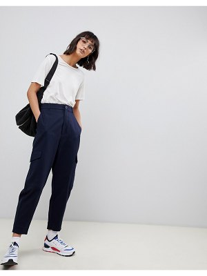 ASOS White pants with side pockets