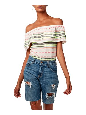 ASTARS Bonita Off-the-Shoulder Top