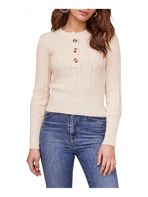 ASTR the Label aspen cotton blend sweater