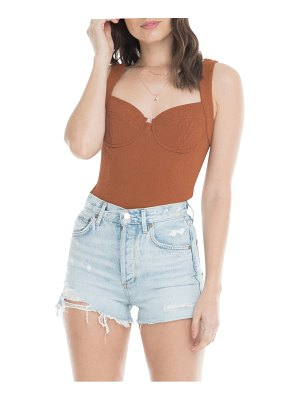 ASTR the Label bustier bodysuit