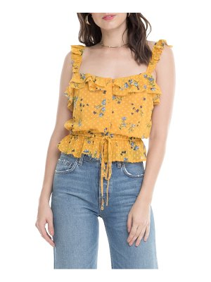 ASTR the Label donna ruffle sleeveless top