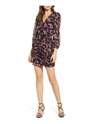 ASTR the Label floral long sleeve minidress