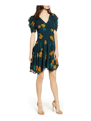 ASTR the Label floral print minidress