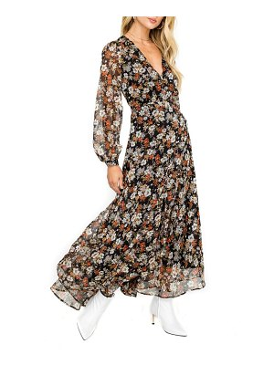 ASTR the Label handkerchief hem maxi dress