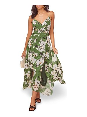 ASTR the Label lyric floral maxi dress