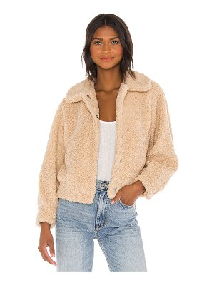 ASTR the Label marjorie faux fur jacket
