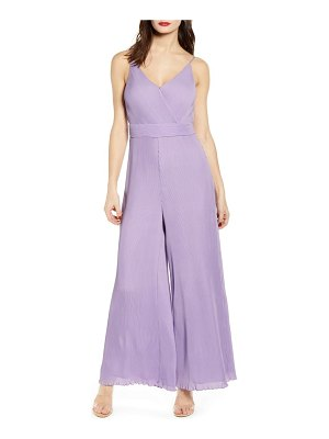 ASTR the Label plisse jumpsuit