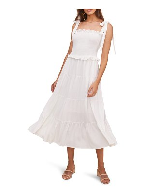 ASTR the Label promenade smocked bodice midi dress
