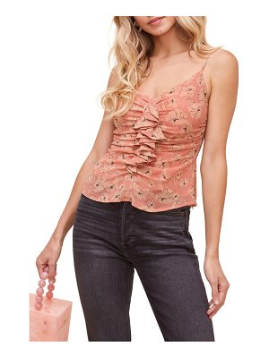 ASTR the Label ruffle floral camisole