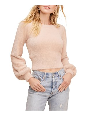 ASTR the Label sorbet balloon sleeve sweater