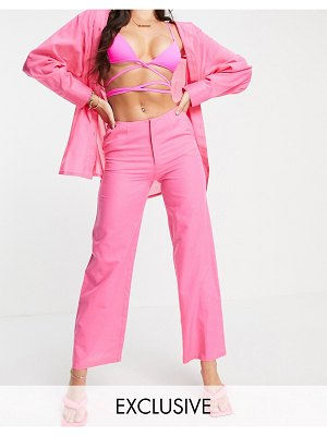 AsYou wide leg pant in pink