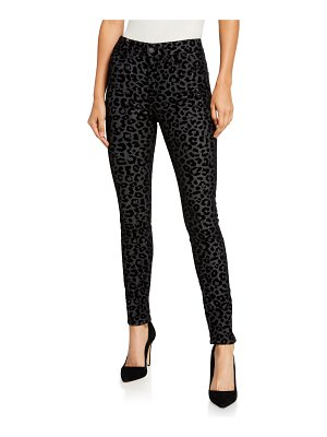 Atelier Notify Bamboo Skinny Leopard-Print Jeans