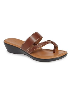 Athena Alexander barn dance wedge slide sandal