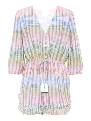 Athena Procopiou Cosmic Dancer striped playsuit