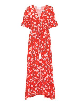 Athena Procopiou Farah floral silk dress
