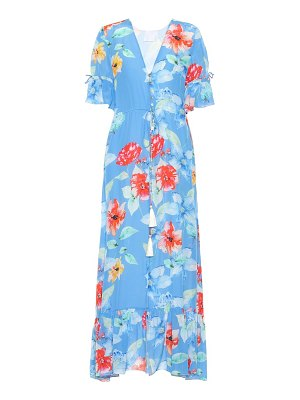 Athena Procopiou Floral-printed silk dress
