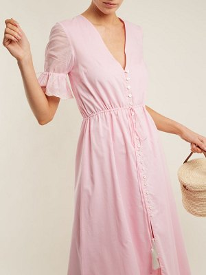 Athena Procopiou julia button front dress